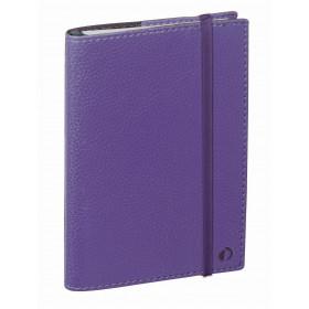 Agenda QUOVADIS TIME&LIFE POCKET violet - 10x15cm - 1 semaine sur 2 pages