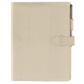 Organiseur OBERTHUR 21 CHAMBLY en Toile nylon couleur beige - format 19x23cm