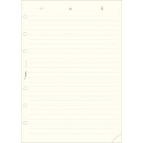 Recharge répertoire 30 feuillets ivoires pour organiseur OBERTHUR 30 - format 21x29,7cm