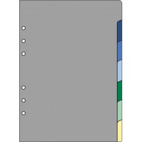 Recharge 7 intercalaires pour organiseur OBERTHUR 21 - format 15x21cm