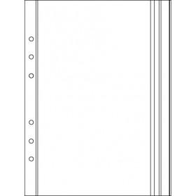 Recharge 3 étuis porte-documents pour organiseur OBERTHUR 21 - format 15x21cm