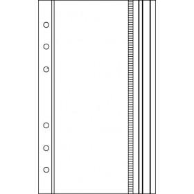 Recharge 3 étuis porte-documents pour organiseur OBERTHUR 17 - format 10x17cm