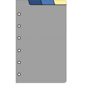 Recharge 4 intercalaires pour organiseur OBERTHUR 13 - format 8x13cm