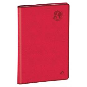 Agenda QUOVADIS PRESIDENT Recyclé rouge cerise - 21x27cm - 1 semaine sur 2 pages