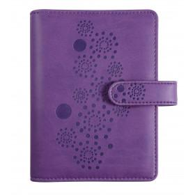Organiseur EXACOMPTA Exatime 14 Flora violet - 140x100mm