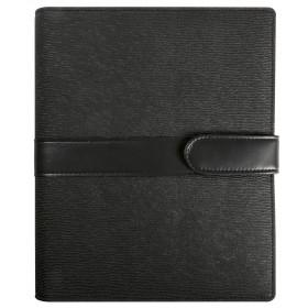 Organiseur EXACOMPTA Exatime 21 simili cuir Kelly noir - 230x190mm
