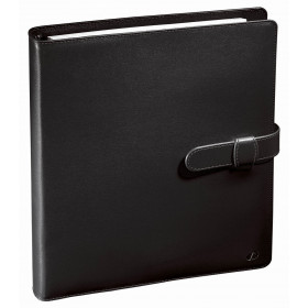 Organiseur QUOVADIS Timer 21 prestige couverture noir soho 19,5 x 23,5 cm