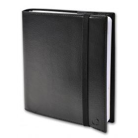Agenda QUOVADIS TIME&LIFE MEDIUM avec répertoire noir 16x16cm - 1 semaine sur 2 pages