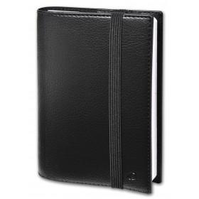 Agenda de poche QUOVADIS TIME&LIFE POCKET avec répertoire noir 10x15cm - 1 semaine sur 2 pages