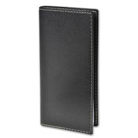 Agenda de poche QUOVADIS ITALNOTE B avec répertoire couverture Club noir ébène 8,8x17cm - 1 semaine sur 2 pages