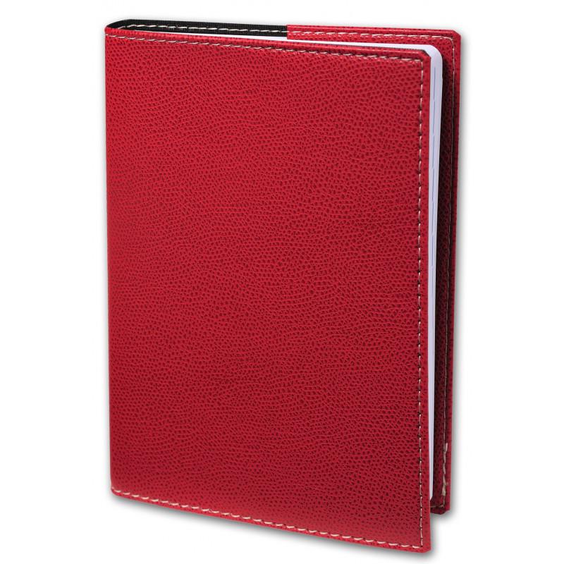Agenda QUOVADIS Planning SD 18 x 24 cm 16 mois - 1 semaine sur 2 pages couverture Club Rouge Cerise
