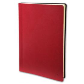 Agenda semainier de poche QUOVADIS Universitaire 10 x 15 cm - 1 semaine sur 2 pages couverture Toscana Coquelicot