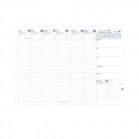 Recharge pour agenda QUOVADIS EU 09/09 format 21x29,7cm