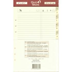 QUOVADIS Recharge répertoire téléphonique pour TIMER 21