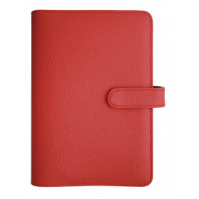 Agenda organiseur EXACOMPTA Exatime 17 light Baltique rouge - 190 x 135 mm