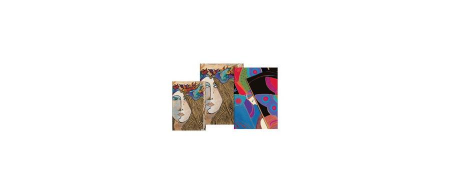Gamme carnets, répertoires et agendas Paperblanks série Esprit de Femme