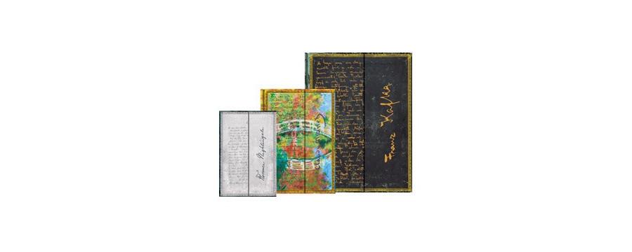 Gamme carnets, répertoires et agendas Paperblanks série Les Manuscrits Estampés