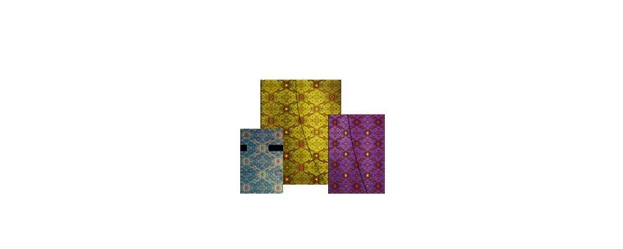 Gamme carnets, répertoires et agendas Paperblanks série Splendeur de la Soie