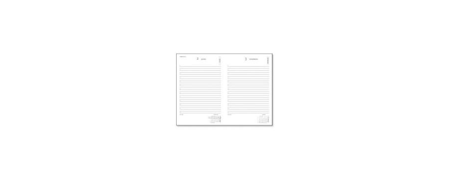 Agenda PAPERBLANKS 1 jour par page