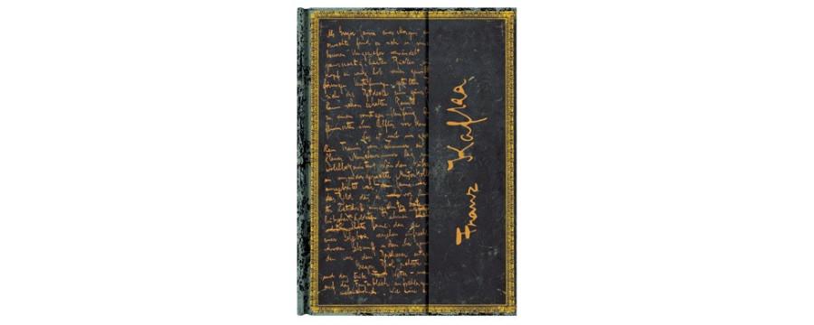 Gamme carnets, répertoires et agendas Paperblanks série Les Manuscrits Estampés Kafka