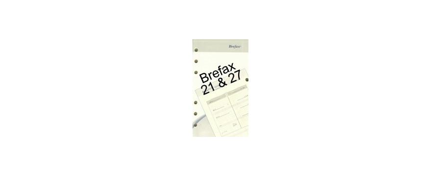 Recharges et accessoires BREPOLS pour Brefax 21 et 27