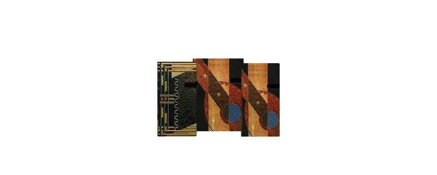 Gamme carnets, répertoires et agendas Paperblanks série Art Déco Littéraire