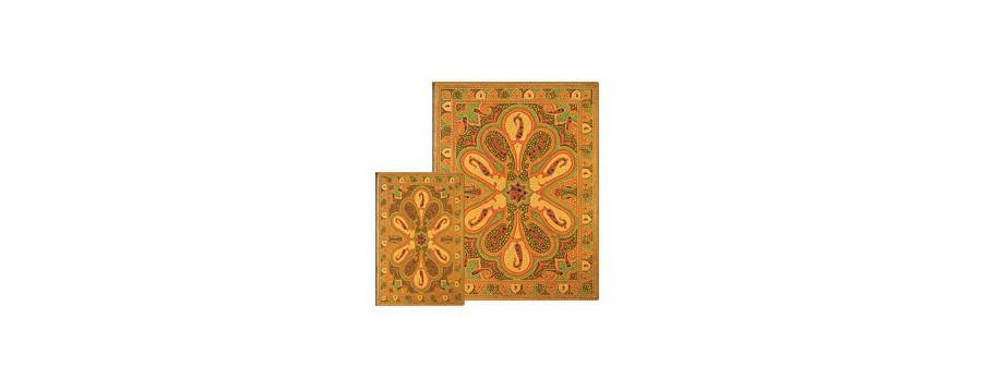 Gamme carnets, répertoires et agendas Paperblanks série Bukhara