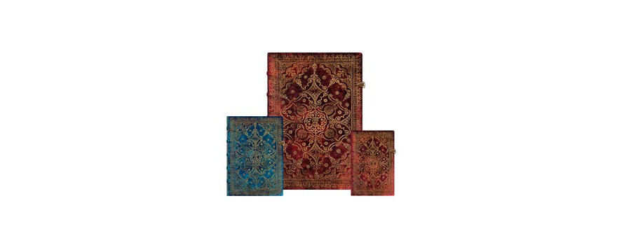 Gamme carnets, répertoires et agendas Paperblanks série Equinoxe