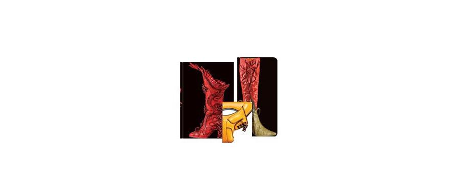 Gamme carnets, répertoires et agendas Paperblanks série Fabuleuses Chaussures