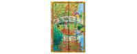 Gamme carnets, répertoires et agendas Paperblanks Les manuscrits Estampés série Monet