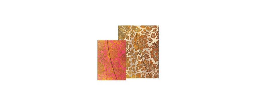 Gamme carnets, répertoires et agendas Paperblanks série Papier Brocart