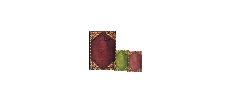 Gamme carnets, répertoires et agendas Paperblanks série Sensibilité Romantique