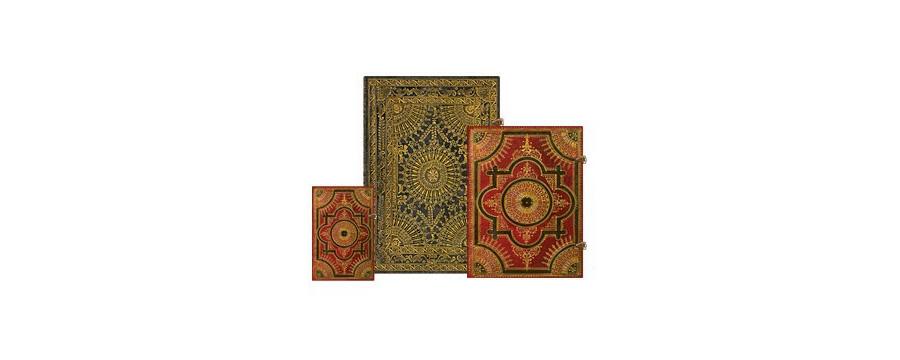 Gamme carnets, répertoires et agendas Paperblanks série Ventaglio Baroque