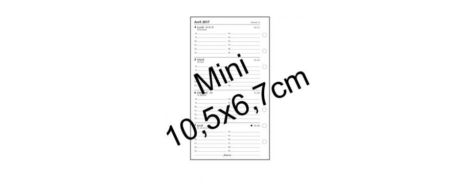 Recharge FILOFAX Mini 105x67mm - 5 perforations