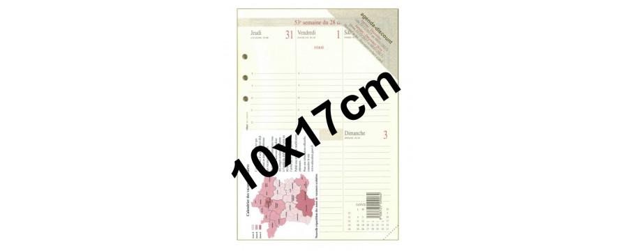 Recharges pour organiseur OBERTHUR 17 - 10x17cm