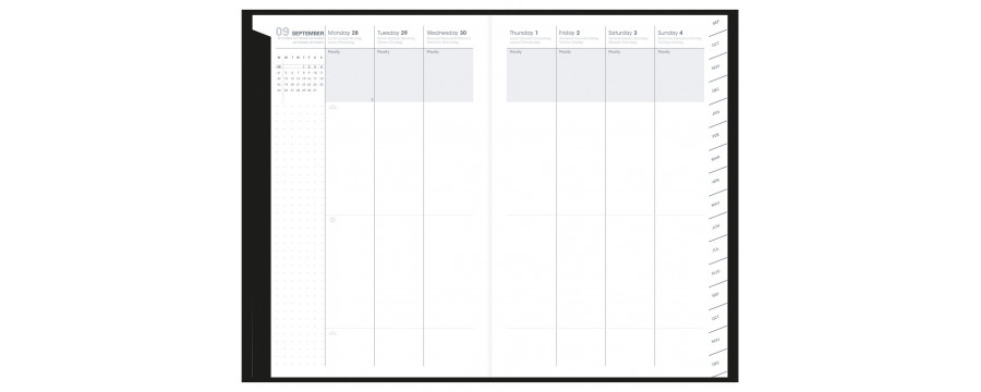 Agenda QUOVADIS PLAN WEEK